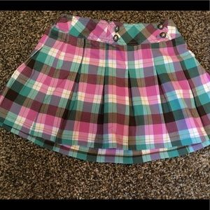 💰 3/$17  Girls Cherokee Plaid Skort. NWT